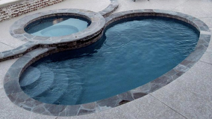 All American Pool Company Kidney Model Trilogy Pools From The Swimming Pool Builder For Mid Ohio Valley And Surrounding Areas